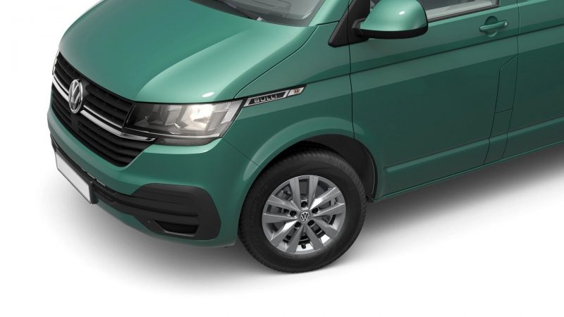 VW T6.1 Custom-Bus Bay Leaf Green