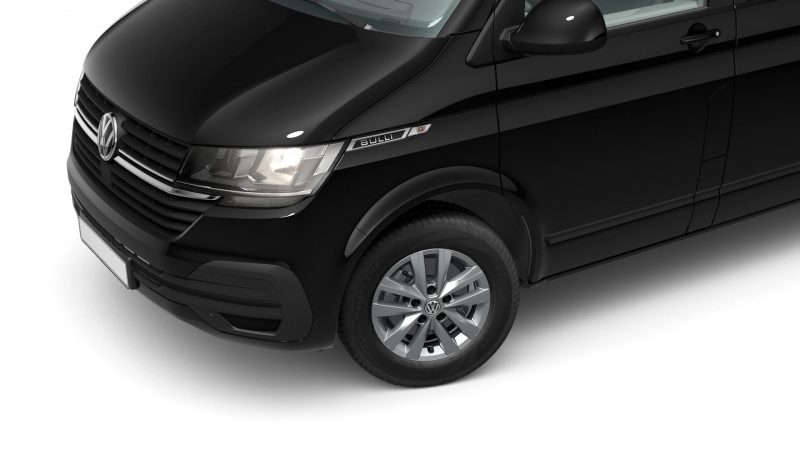 VW T6.1 Custom-Bus Deep Black